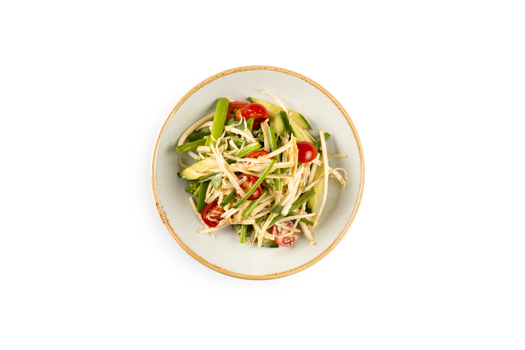 Салат из свежих овощей по-харбински