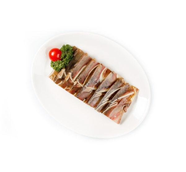 свиные ушки специальном китайском соусе из ресторана