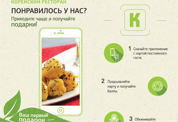 Приложение Кимчи - корейский ресторан в Москве